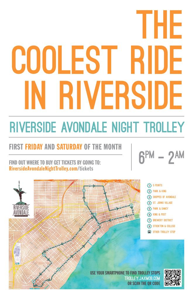 Coolest ride in riverside poster